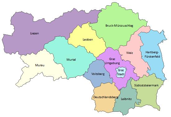 steiermark karte Gemeindestrukturreform   Gemeindestrukturreform   Land Steiermark